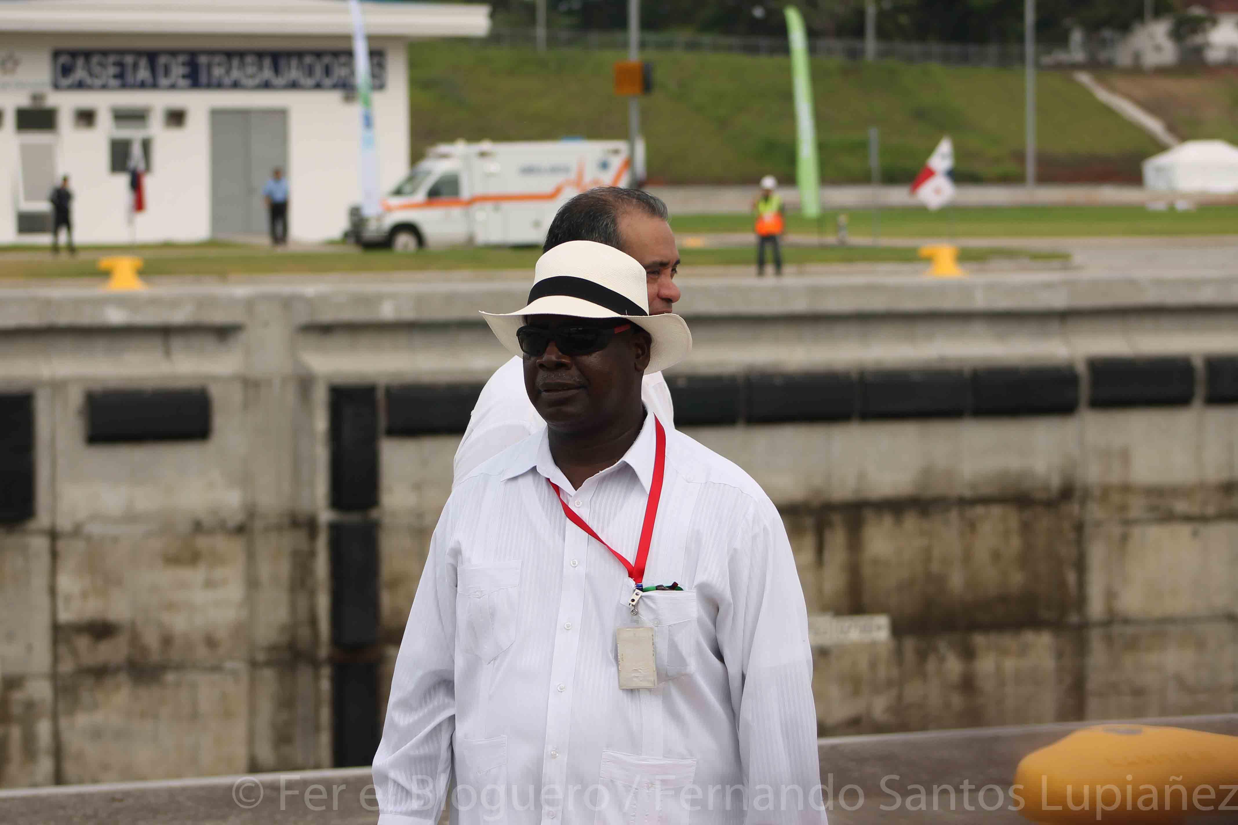 Fotos de Inauguración del Canal Ampliado de Panamá. Sr Jorge Quijano, administrador del Canal de Panamá